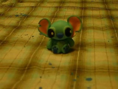 Polymer Clay Baby Stitch Video Response ~ For SabyLoves