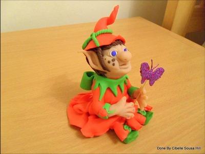 Polymer Clay Elf