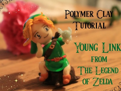 Polymer clay tutorial young Link from The legend of Zelda- Ocarina of time