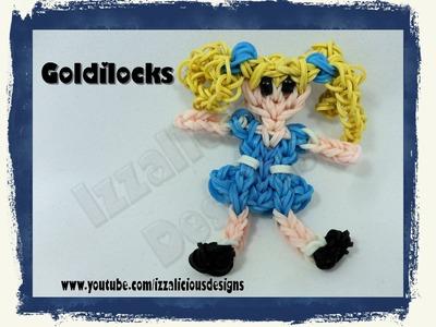 Rainbow Loom Goldilocks from the 3 Bears Action Figure.Charm - Gomitas