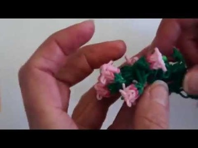 Rainbow Loom™  Lily of the Valley Bracelet Tutorial