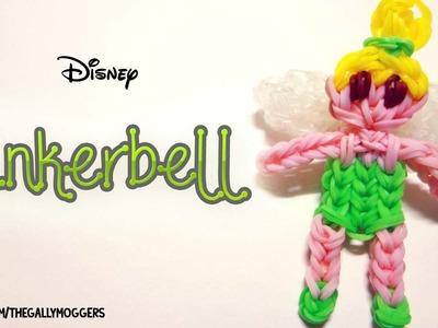 Rainbow Loom Tinkerbell Fairy Action Figure Doll - How To