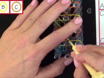 Rainbow Loom: Totem Pole Bracelet Tutorial
