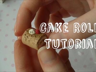 Roll Cake Polymer Clay Tutorial