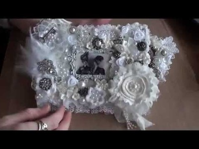 Shabbychic Birthday gifts I made for Diana . (sparemarbles2012)