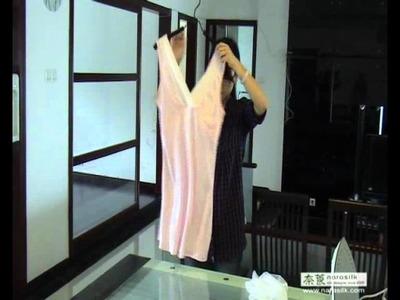 The right ways of washing silk sleepwear