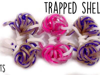 Trapped (Sea)Shells Bracelet | Rainbow Loom Tutorial | Hook Only