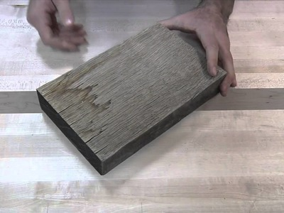 165 - The Effects of Weather on Untreated Wood