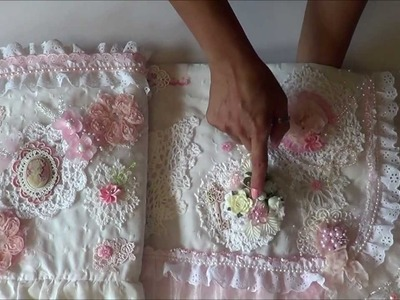 Altered Pillow Sham VR. to Topcropper 250 Decorate A Must Giveaway.Challenge!