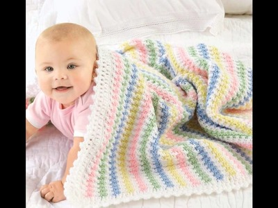 Blankets for Every Baby Crochet Patterns Book Preview