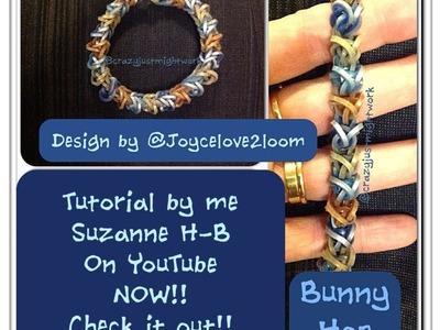 Bunny Hop bracelet tutorial (hook only)