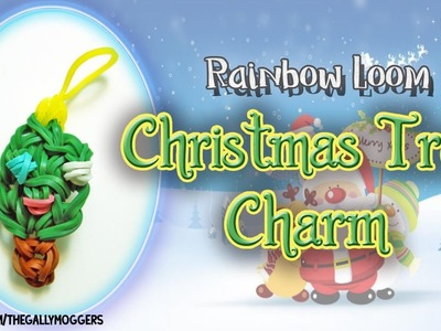 Christmas Tree Charm Rainbow Loom - How To