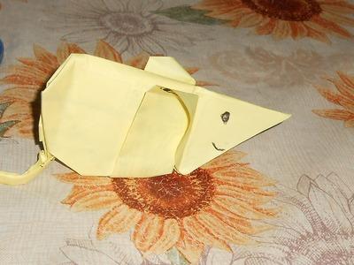 Como hacer un raton de papel facil solo viendo origami
