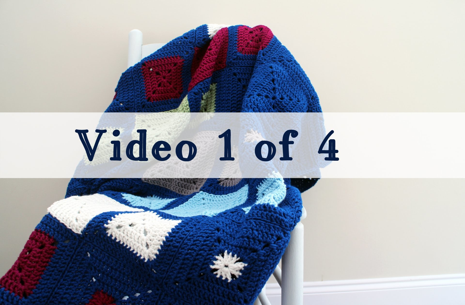 Crochet Challenge For Warm Up America Video 1 of 4
