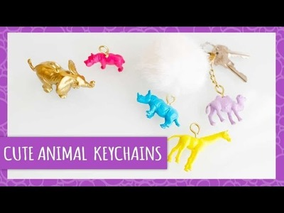 DIY Animal Keychains - HGTV Handmade