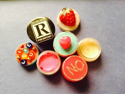 DIY: Bottle Cap Lip Balms