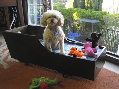 DIY Divas - Transform Vintage Sled into Stylish Dog Bed