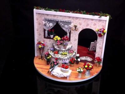 DIY Dollhouse Miniature of Mini ROSE Garden (2)  at LAMiniWorld.com