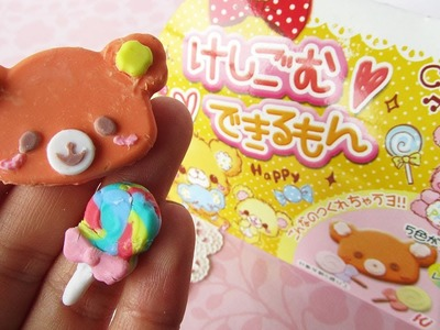 DIY Erasers ♥ Bears and Lollipops