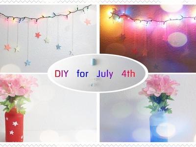 DIY - Flower Vase, Hanging Light Decors - Cheap & Easy Tumblr Inspired Room Decors
