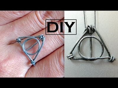 DIY Harry Potter Ring.Necklace Pendant | Wire Wrapped Ring
