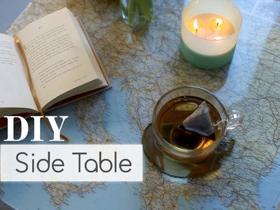 DIY: Recycle That Side Table ∞ Trash to Fab w. AnneorShine
