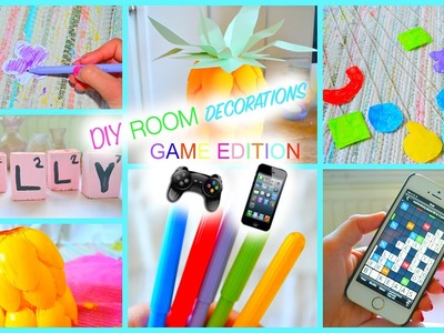 DIY Room Decorations | Game Edition