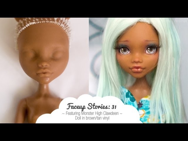 Faceup Stories: 31 Monster High Clawdeen