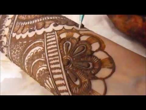 Full Hand Indian Pakistani Henna Mehndi Design-2014 Indian Bridal Mehendi