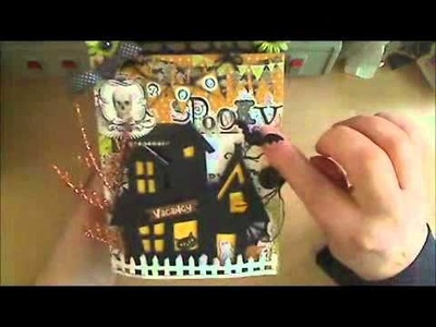 Halloween Treat bag with card for swap at MSR