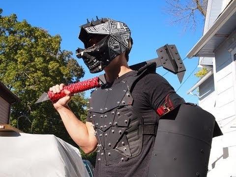 Homemade Weapons Part 4: War Hammer.Saw Blade Slinger