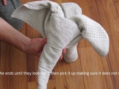 How to: A Towel Elephant