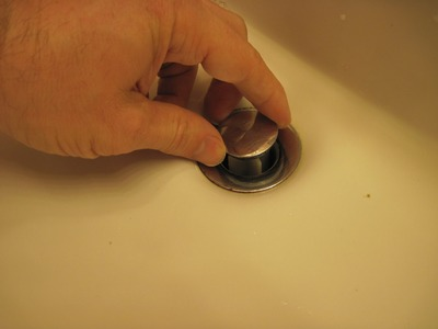 How to Clean Out a Sink Pop-up Drain Stopper