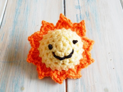 How to Crochet a Sun