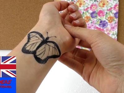 How-To: Home made temporary tattoo!