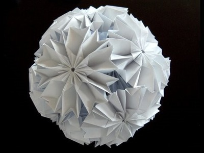 How to make a Cherry Blossom Ku-Kusudama