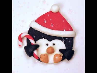 How To Make A Christmas Penguin Cupcake Topper