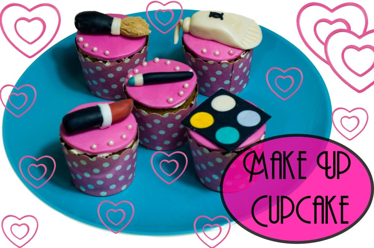 HOW TO MAKE A MAKE UP CUPCAKES