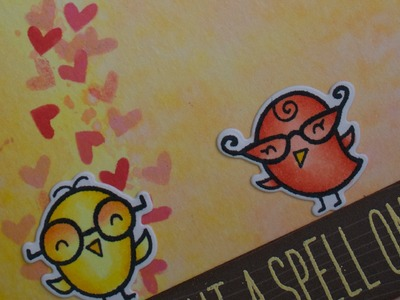 How to make a science-themed Valentine's Day card with Lawn Fawn!