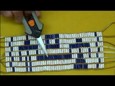How to Make a Wampum Belt, Part 4
