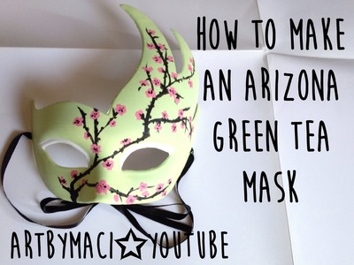 How to Make an Arizona Green Tea Mask