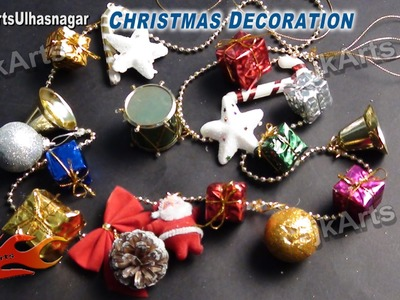 HOW TO: make Christmas Decoration - JK Arts 458