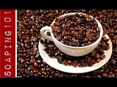 How to Make Coffee Soap {with an extra caffeine kick}