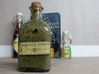 How to make Harry Potter Polyjuice Potion (smoothie)