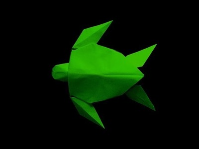 How to make: Origami Turtle