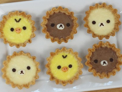 How to Make Rilakkuma Tarts!