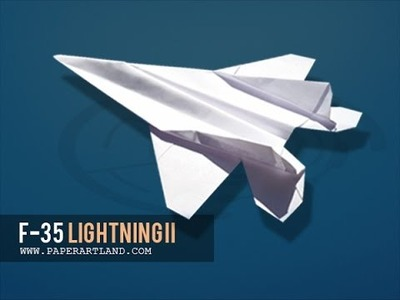 How to  make the best paper jet that FLIES well | F-35 ( Tri Dang )