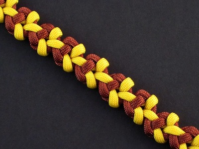 How to Make the Dawn Sun Bar (Paracord) Bracelet by TIAT