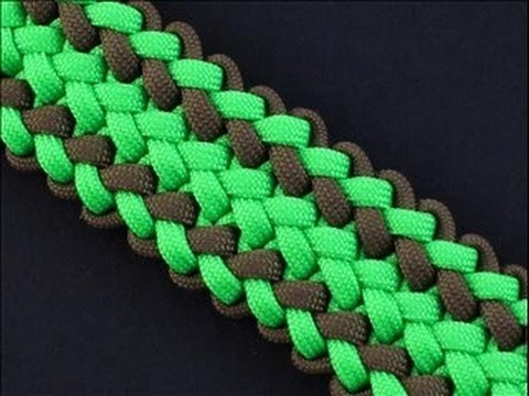 How to Make the Triple Wide (Paracord) Zipper Sinnet Bracelet by TIAT