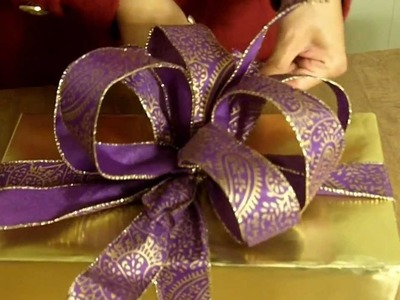 How to make the Ultimate BOW for your Christmas Gift or Present
